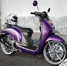 Modifikasi Scoopy Karbu by 2019 Modifikasi Motor Scoopy Karbu Fi Babylook Thailook