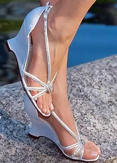 Wedge Wedding Heels