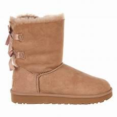 ugg australia bailey bow ii fashion boot fawn womens