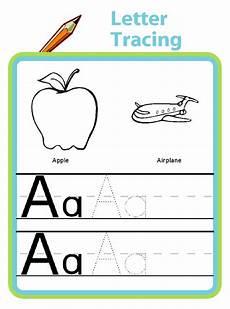 letter tracing great for preschool and kindergarten handwriting practice