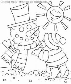 winter coloring pages timeless miracle