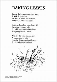 poetry worksheets for second grade 25288 raking leaves shared reading poems poems