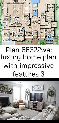 luxury home plan with impressive features 66322we plan 66322we luxury home plan with impressive features 3