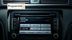 2014 2015 vw passat w hd radio technology