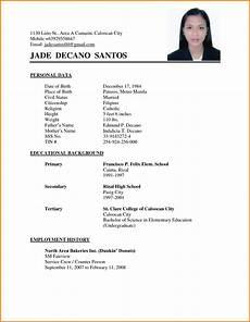 resume exles philippines resume ixiplay free resume sles simple resume sle philippines