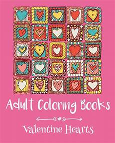 adult coloring books valentine hearts by emma andrews