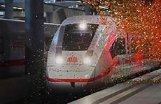 De Siemens And Deutsche Bahn Celebrate The Arrival And
