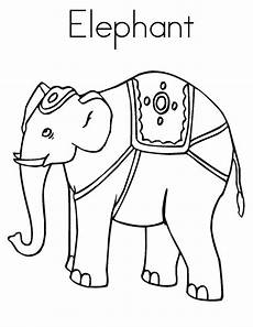 elmer the elephant coloring page coloring home