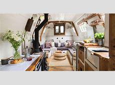 Charming Century Old Narrowboat Makes Stylish Use of Every