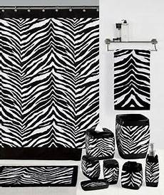 zebra print bathroom ideas safari black white zebra print bath accessories