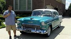 how can i learn about cars 1955 chevrolet corvette interior lighting 1955 chevy 210 post classic muscle car for sale in mi vanguard motor sales youtube