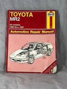 free car repair manuals 2004 toyota mr2 user handbook toyota mr2 85 87 haynes repair manuals by haynes shelf repair manuals toyota mr2 repair