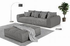 big sofa mit hocker jockenh 246 fer sofa samy in grau m 246 bel letz ihr online shop