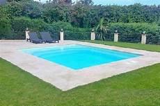 piscine coque carrée kit mini piscine carr 233 e polyester jersey
