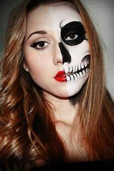 Make Up Halbes Gesicht - schminktipps f 252 r karneval hier kommen die kreativsten