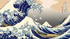 Japanisches Bild Welle - the great wave kanagawa anim v2