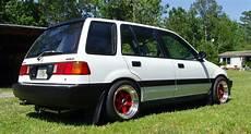 Honda Civic Kombi - 1991 honda civic wagon wagovan b16a v tec clean