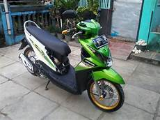 Honda Beat Modif by 105 Modif Simple Beat Fi Modifikasi Motor Beat Terbaru
