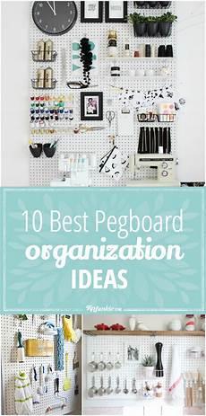 10 best pegboard organization ideas tip junkie