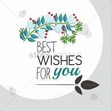 best wishes for best wishes for you greeting vector image 1811294
