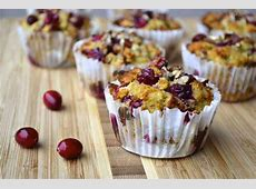 coconut cranberry muffins_image