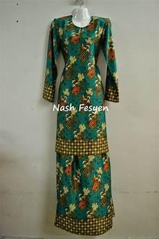 nash fesyen baju kurung motif floral