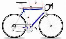 Fahrrad Richtige Rahmenh 246 He Finden Bilder Richtwerte Frnet