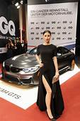 Celebrities Take Turns Posing With The BMW M4 GTS At GQ