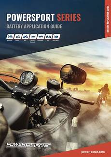 Autocraft Motorcycle Battery Application Chart Motorcycle Powersport Batteries 6v 12v Agm Amp Lithium