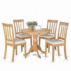Small Kitchen Table And 4 Chairs shop oak small kitchen table and 4 chairs dining set