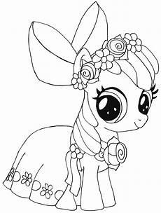My Pony Malvorlagen Gratis My Pony Apple Bloom Kleurplaat My Pony
