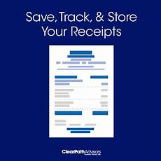 how to organize receipts and your life clearpath advisors