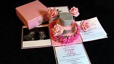 Exploding Box Wedding Invitation