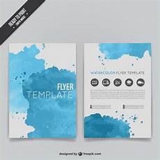 flyer vorlagen kostenlos fabelhaft aquarell flyer vorlage