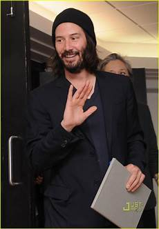 keanu reeves ode to happiness book signing photo