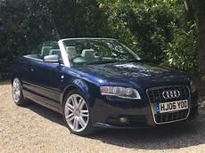 2006 audi a4 b7 s4 quattro convertible auto blue sat