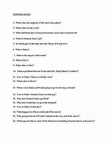 osmosis jones teacher worksheets and quizes pinterest