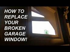 replacement windows garage how to replace garage glass window pane panel