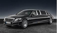 mercedes maybach s600 pullman revealed 2017 mercedes maybach s 600 pullman guard
