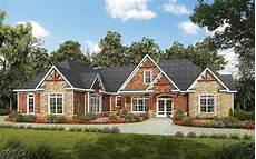 one level craftsman house plans one level luxury craftsman home 36034dk architectural
