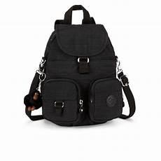 kipling s firefly medium backpack dazzling black womens accessories thehut com