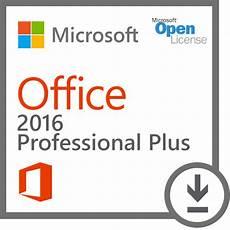 microsoft office 2016 professional plus open license