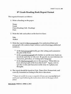 8th in word form book report template 6 free templates in pdf word