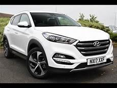 Used Hyundai Tucson 2 0 Crdi Premium 5dr White 2017