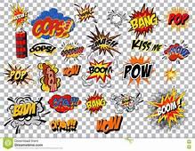 Cartoon Explosion Pop Art Style Vector Illustration