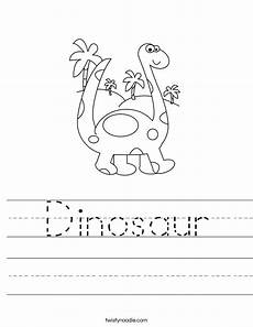 dinosaur worksheet twisty noodle
