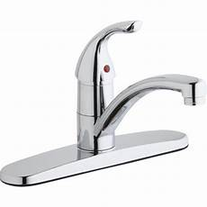 elkay kitchen faucet elkay single handle deck mount kitchen faucet wayfair