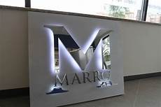 backlit lobby signs indoor led lighted signs impact