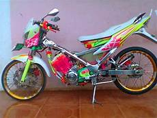 Satria Fu Babylook by Modifikasi Airbrush Satria Fu Chrome Racing Look