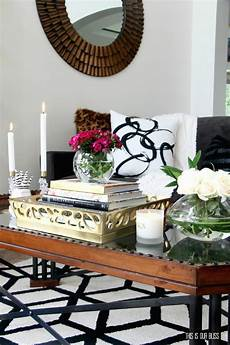how should a coffee table be how to style a coffee table two different ways 1 table